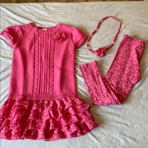 Gymboree 3 piece lot Size 6